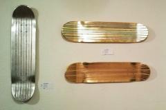 Gold and Silver Leaf Skate Decks