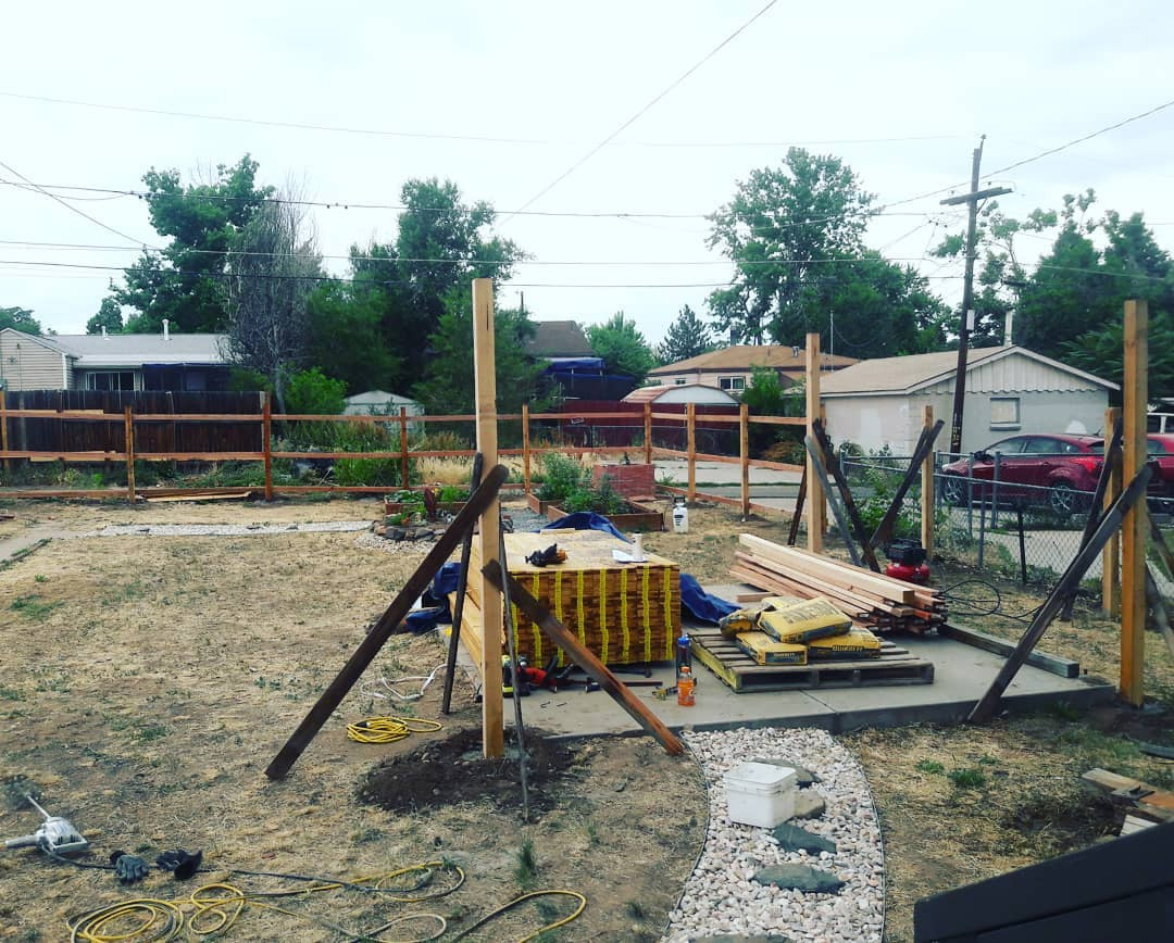 Unexpected Summer Project 1: Fence and Pergola